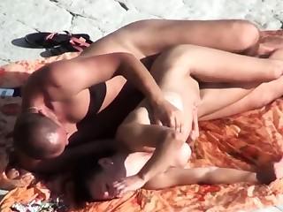 Voyeur on public beach. Sex helter-skelter girl helter-skelter silicone Gut