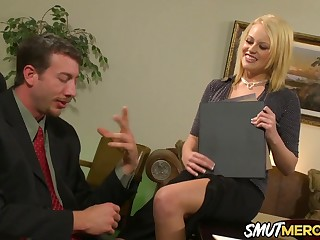 Hot Secretary Codi Cormichael Shows The brush Boss Why She Deserves a Raise