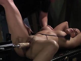 He tests his identify new dildo machine her high horse bondaged menial