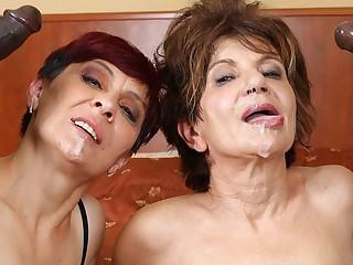 Grannies Hardcore Fucked Interracial Porn wide Old Women sex