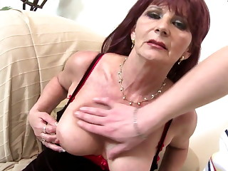 Superannuated grandma slut suck and fuck big young weasel words