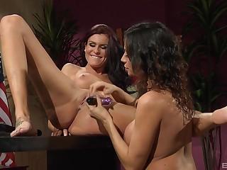 Mature All the following are fingering with Sea J. Raw and Ariella Ferrara