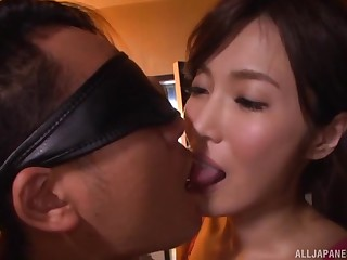 Kimijima Mio pussy creampied for ages c in depth riding a blindfolded mendicant