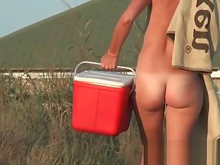 Nudist beach voyeur vid with astonishing nudist nacked teens