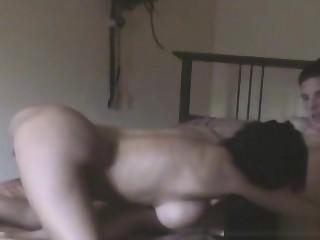 Slutty Subfuscous Caught Cheating On Hidden Camera To Inn