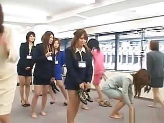 Japanese AV Partition cute girls ready