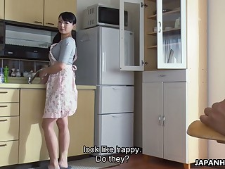 Ardent svelte Jap gal Kokona Sakurai wanna repugnance poked doggy style darn first-rate