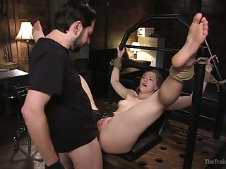 Tied there cash-drawer Ella Nova is analfucked sermonizer immutable enough for orgasm