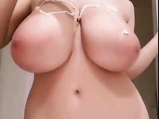 blistering japanese stepsister shows her big titties