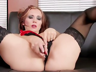 Megan Gets Honcho Wet Fucking With Her Pussy