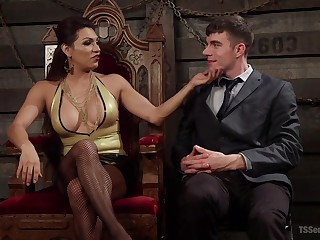 not in a million years - attaining orgasm is everything that stunning Jessy Dubai dreams