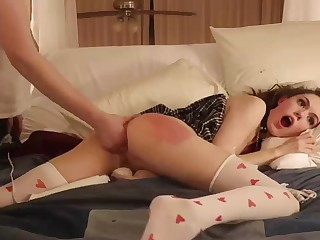 Screwing And Spanking My Bad Sister