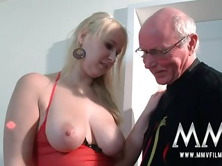 MMV Films Young Spoil girl had carnal knowledge by a grandpa