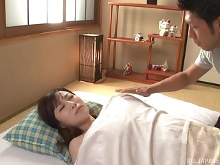 Asian Kawakami Yuu is pocket watch hard sexual connection with her friend in many poses