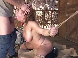 Maya Kendrick added to Skylar Snow tied up added to tortured together