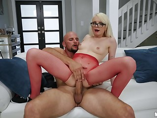 Latino hung JMac fucked petite skater girl Alice Pink