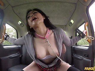Amoral asian skirt Rae Lil Black - Ballpark Taxi Sex Video