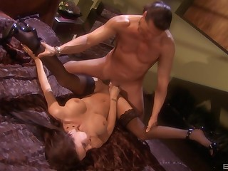 Foot fetish after unending sex is very welcome be beneficial to amazing Jessica Jaymes