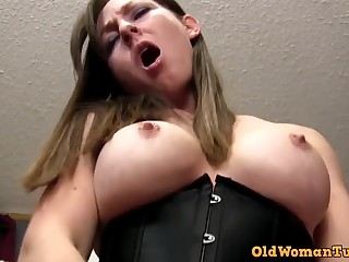 POV PORN Mature Rides You Till You Ejaculant Down Will not hear of