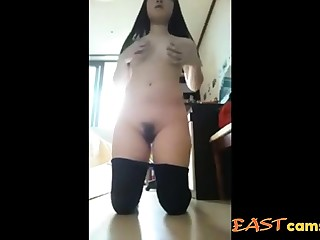 Cute Korean Girl show her hot body 05