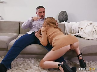 Anya Olsen is ready for hard sex with her go steady with in many poses
