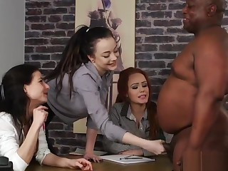 British CFNM beauties wank dick within reach get rid of maroon