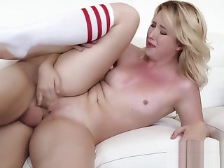Samantha Rone Banged Hard above Day-bed