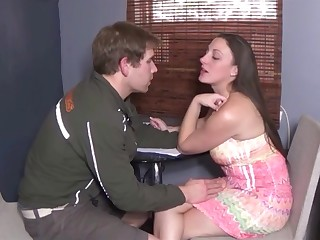 Naughty curvy stepmom wants young cock