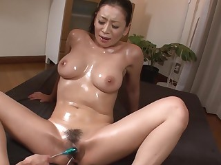 Leader Milf Enjoys Japan Cum Over Say no to Hairy Pussy