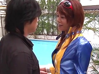 Provocative Atou Mako with nice apropos tits gets fucked by a stranger
