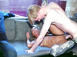 Cuckold Watches German Mature Wife Roger Animalistic Cock Teen Boy