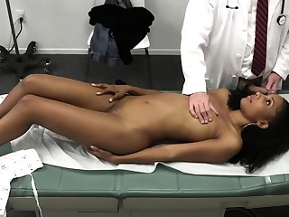 Doctor fucks black come what may at near yearly check up