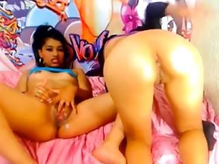 20 year old Latina girls teasing